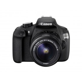 CANON DSLR EOS 1200D+18-55MM+75-300MM+CASE+SD 8G