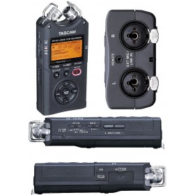 Tascam DR-40 Handheld Recorder SD Card SLOT UP TO 32GB
