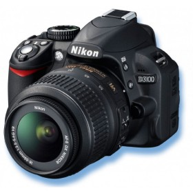 Nikon D3100  14MP + 2 Lens 18-55 AF and 55-200 AF + BAG + 8GB SD card