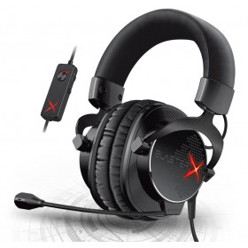 Creative Sound GH0330 BlasterX H7 USB Professional Tournament Edition HD 7.1 Surround Sound Gaming Headset