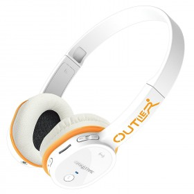 Creative Outlier Feature-rich Wireless Bluetooth On-ear Headphones with Integrated MP3 Player, White, 51EF0690AA007