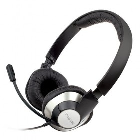Creative Chatmax HS-720 USB Headset for Online Chats and PC Gaming, Black