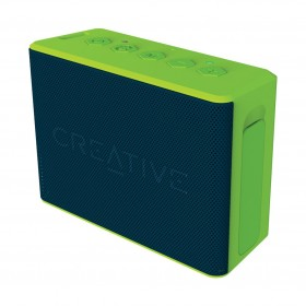 Creative MUVO 2c Palm-sized Water-resistant Bluetooth® Speaker with Built-in MP3 Player, Green, 51MF8250AA003