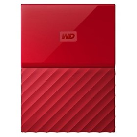 WESTERN DIGITAL WDBYNN0010BRD-WESN MY PASSPORT Harddisk 1TB, RED