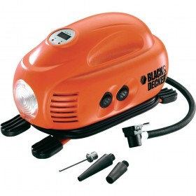BLACK and DECKER ASI200-XJ PORTABL AIR COMPRESOR 12V