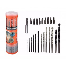Black and Decker A7102-XJ Drill Bit 23 Piece Mixed Set