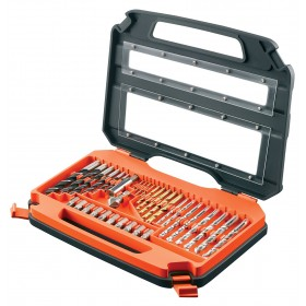Black and Decker A7152-XJ Drilling and screwdriving set, 35 Pieces