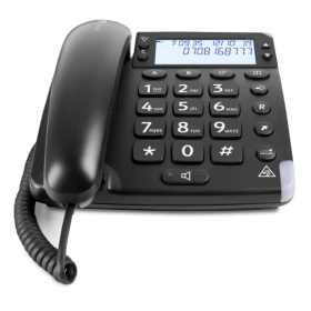 Doro MAGNA4000BLK EXTREMELY LOUD CORDED PHONE black