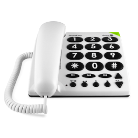 Doro 311C Large Buttons PhoneEasy® White