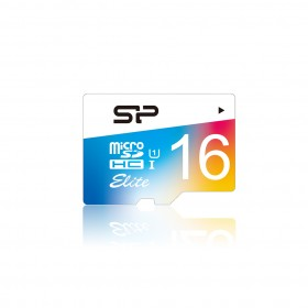 SILICON POWER SP016GBSTHBU1V20 Memory Card Micro SD 16G C10