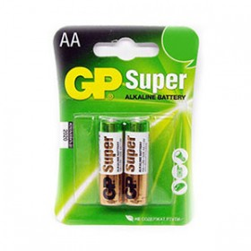 GP 15A Super Alkaline Batteries (AA) - 2 Pack