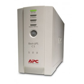 APC BK500CI Back-UPS 300Watts / 500VA, 230V, IEC320, without auto shutdown software, Beige
