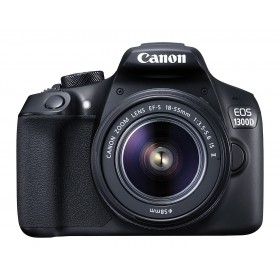 Canon EOS 1300D 18MP Digital SLR Camera (Black) with 18-55mm ISII Lens