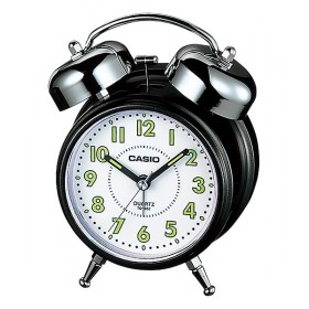 CASIO TQ-362-1B ANALOGE CLOCK, BLACK&WHITE