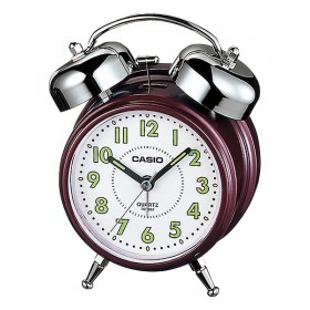 CASIO TQ-362-4B ANALOGE CLOCK, Dark Red