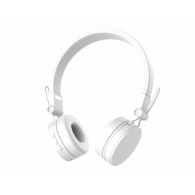 DEFUNC D1132 GO BLUETOOTH HEADSET WITH MIC, WHITE