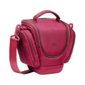 Riva 7202 HOLSTER CASE SLR WITH SIDE POCKETS RED, Series Ipanema, 6901812072022