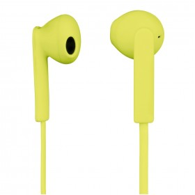 Hama 00015770 MOOD Headset/Mic, yellow