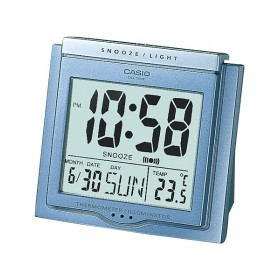 CASIO DQ-750F-2D DIGITAL CLOCK THERMO, BLUE
