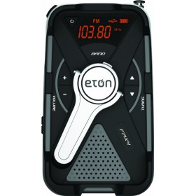 Eton FRX4S Emergency Radio The Rugged, All-Purpose, Quad-Power, Smartphone & Tablet Charging Radio With Customizable Weather