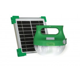 SCHNEIDER Portable Off-Grid Lighting - Solar powered portable LED Lamps with mobile charger TS120S