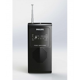 Philips AE1500/00 FM/MW Portable Radio with analog tuning
