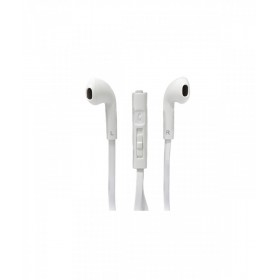 PASSION4 PLG088 STEREO HEADPHONE + MIC 1M WHT