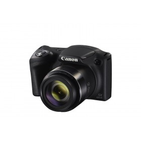 Canon PowerShot SX420 IS 20 MP with Long Zoom Cameras 42x Optical Zoom, EU23 + SD 8GB, Black