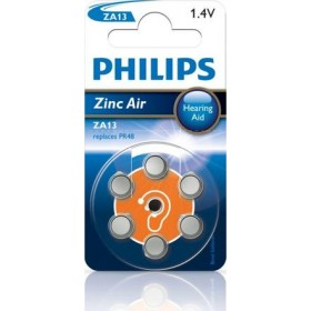Philips ZA13B6A/10 Minicells Battery ZA13B6A Zinc-air