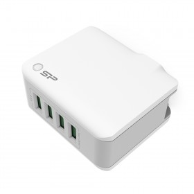 SILICON POWER SP4A4ASYWC104PUW Home Charg 4.4A 4 USB port, White