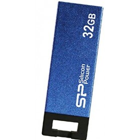 SILICON POWER SP032GBUF2835V1B FLASH DRIVE TOUCH 835 32GB, BLUE