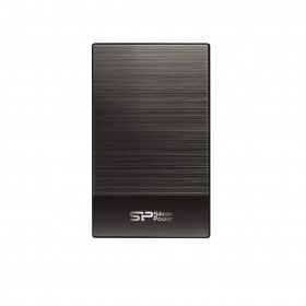 SILICON POWER SP020TBPHDD05S3T HD 2TB USB 3.1 DIAMOND D05, METALLIC GRAY