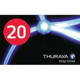 كارت ثريا ( Thuraya Scratch Card 20 Unit )