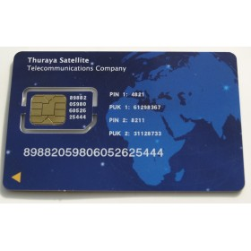 كارت ثريا ( Thuraya Scratch Card 10 Unit )