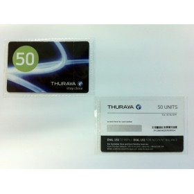 Thuraya Scratch Card 50 Unit