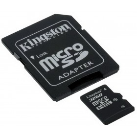 كارت ميمورى كينجستون (Kingston MICRO SD 32GB (SDHC) CLASS 10 PROF SDC10/32GB)