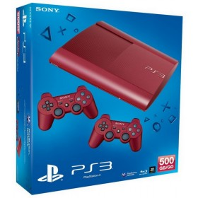 SONY PS3 500GB RED+DS3