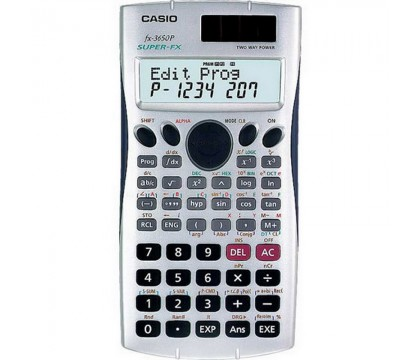 آله حاسبه عمليه (CASIO  fx-3650P  PRACTICAL CALCULATOR)