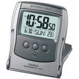 CASIO DIGITAL CLOCK PQ-65 THERMO. LIGHT