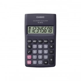آله حاسبه عمليه (CASIO  HL-815 L PRACTICAL CALCULATOR)