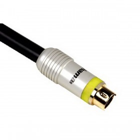كابل فيديو هاما  (Hama HM79046 S-VIDEO CABLE 1,5M)