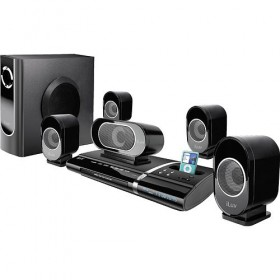 ILuv i1277 5.1-Channel Slim Desktop DVD&IPOD Player with Speaker System