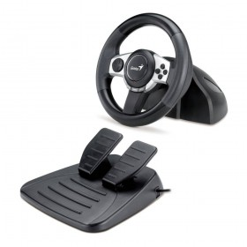 Genius Trio Racer F1 Racing Wheel for PC, PS3, Wii and GameCube systems 31620030100