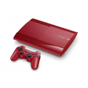 SONY PS3 500GB RED + DS3 + THE LAST OF US