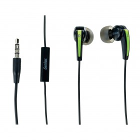 Genius HS-M220 Ergo In-Ear Headset for Mobile Phone With Microphone & call button 31710175101