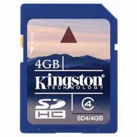 Kingston 4GB High-Capacity Memory Card