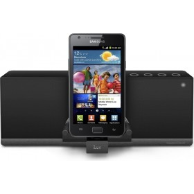 iLuv IMM377BLK MobiAir Bluetooth Stereo Speaker Dock for Smartphones with Micro-USB Charging
