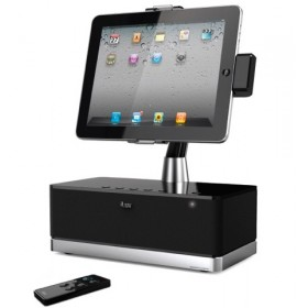 iLuv IMM514BLK ArtStation Pro Hi-Fi Speaker Dock for Apple iPad & iPhone 4 and iPod Touch