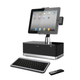 iLuv Speaker Dock With Bluetooth Keyboard for Apple iPad, iPhone and iPod Touch